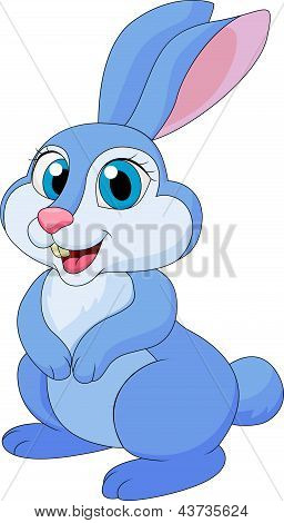 Cute rabit cartoon