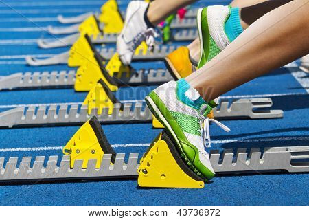 Runners Start Block