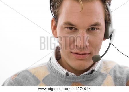 Happy Man - Customer Service