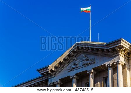 Bulgarian national flag