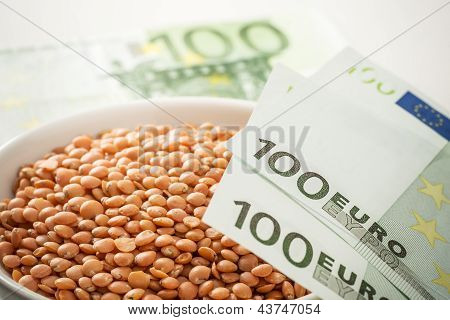 Lentils And Money