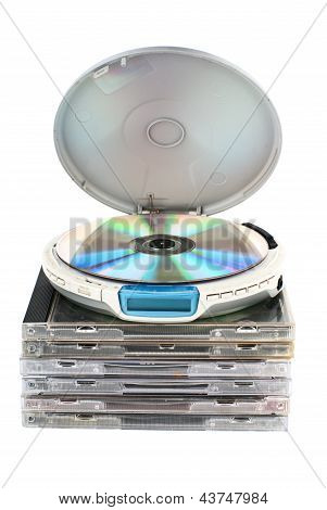 Cd-plater With Cds.