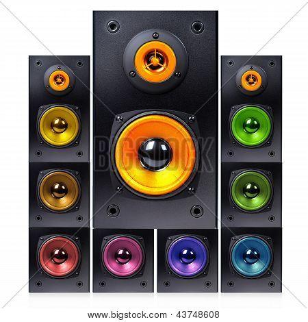 Series Of Audio Speaker