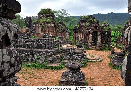 El templo de mi hijo - Duy Xuyen, Quang Nam, Vietnam