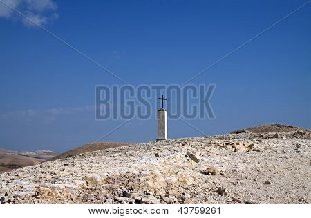Cross In The Desert
