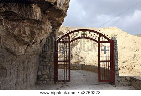 Gate O Monastery Of St. George