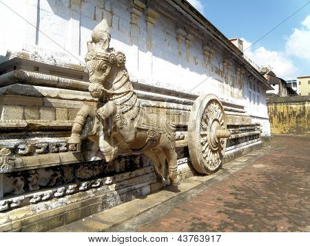 Carruagem, Templo de Sri Nageswaraswami, Kumbakonam, Índia