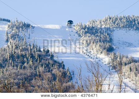 Winter  Far Away Ski Slop