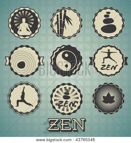 Vector Set: Zen Labels