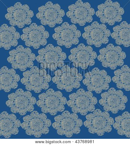 Pale Blue Lace Background