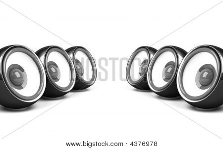 Black Stylish Audio System