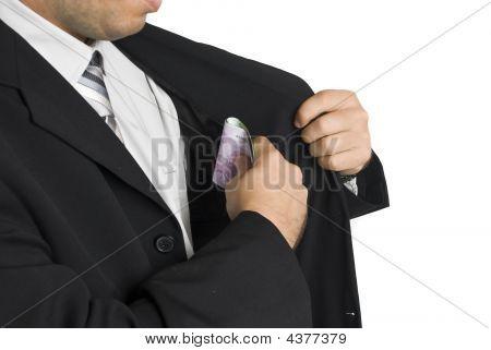 Money In Pocket Suit