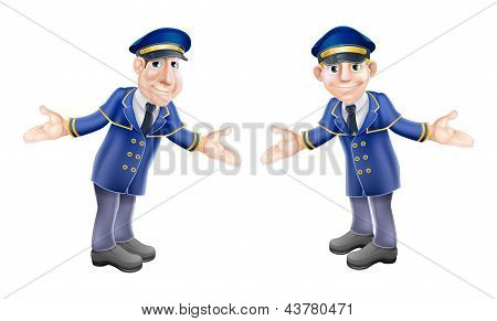 Doormen Or Bellhops