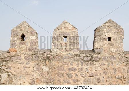 Fortification, Golcanda Fort