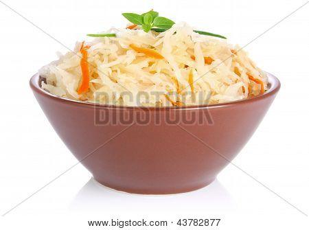 Pickled Cabbage (german Sauerkraut)