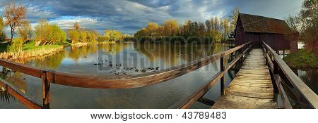Watermill - Panoramic View