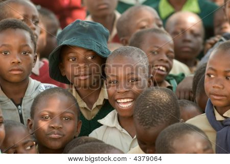 School Kids In Zimbabwe