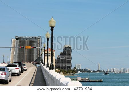 Drawbridge Over Biscayne Bay