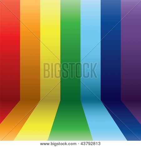 Vertical Rainbow