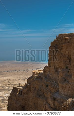 Masada National Park, King Herod's Mountain Palace-Fortress, Israel