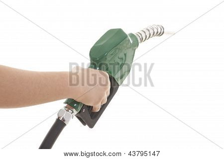 Gas Pump Isolated On White