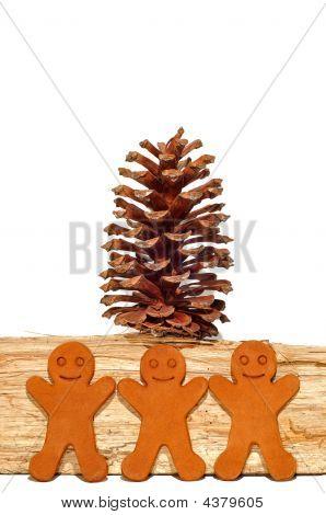Gingerbread Men Decoration