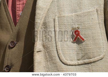 Aids Ribbon In Zimbabwe