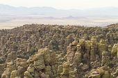Cliffs in Chiricahua poster