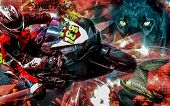 Motorcycle superbike