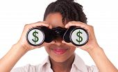 stock photo of brazilian money  - Young black  - JPG