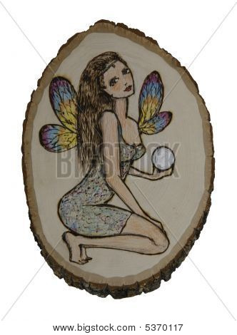 Fairy With Crystal Sphere