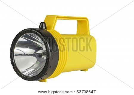 Flashlight Isolated