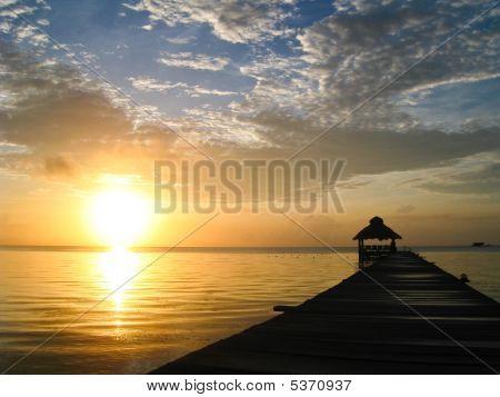 Sunburst Over Belize
