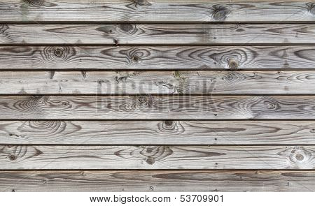 Uncolored Weathered Gray Wooden Lining Boards