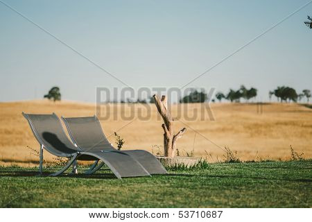 Country Tourism Lounge Chairs Landscape