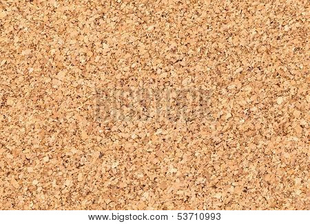 Empty Bulletin Board Background Texture, Natural Cork Board