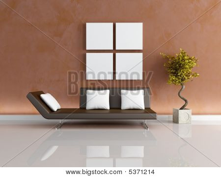 Modern Brown Living-room