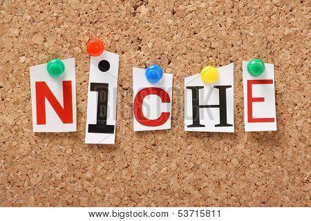 The word Niche