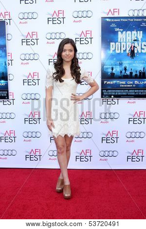LOS ANGELES - NOV 9:  Piper Curda at the AFI FEST