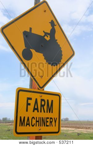 Farm Machinery Sign