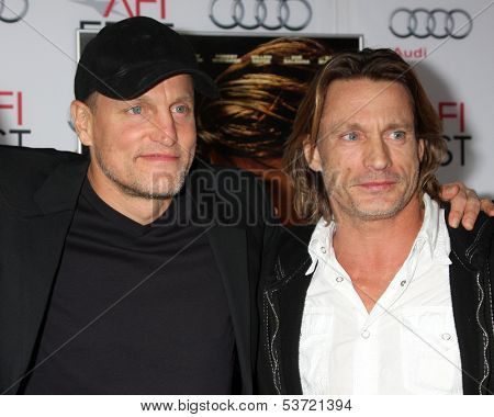 LOS ANGELES - NOV 9:  Woody Harrelson, Brett Harrelson at the AFI FEST 2013 Presented By Audi -