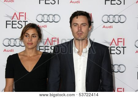 LOS ANGELES - NOV 9:  Summer Phoenix, Casey Affleck at the AFI FEST 2013 Presented By Audi -