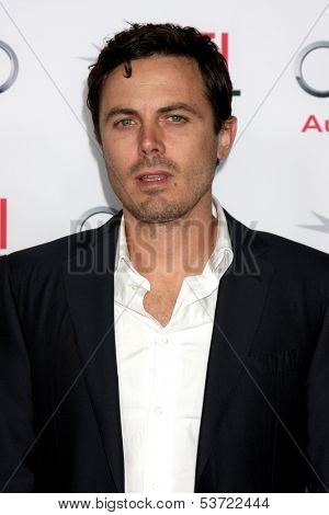 LOS ANGELES - NOV 9:  Casey Affleck at the AFI FEST 2013 Presented By Audi -