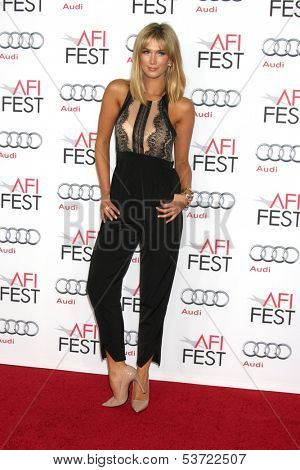 LOS ANGELES - NOV 9:  Delta Goodrem at the AFI FEST 2013 Presented By Audi -