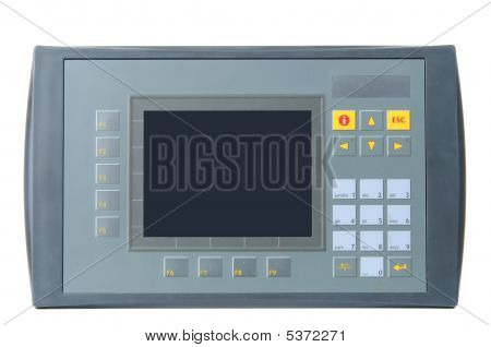 Industrial Plc With Built-in Operator Panel