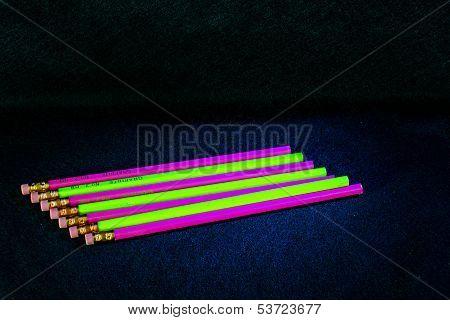 Florescent Pencils