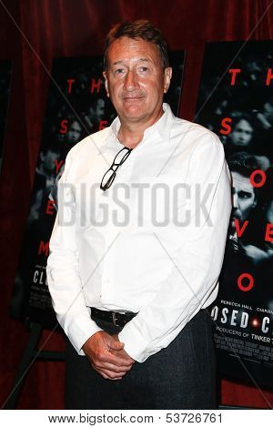 NEW YORK-AUG 19: Screenwriter Steven Knight attends the 'Closed Circuit' screening at the Tribeca Grand Hotel on August 19, 2013 in New York City.