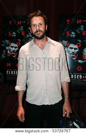 NEW YORK-AUG 19: Actor Josh Hamilton attends the 'Closed Circuit' screening at the Tribeca Grand Hotel on August 19, 2013 in New York City.