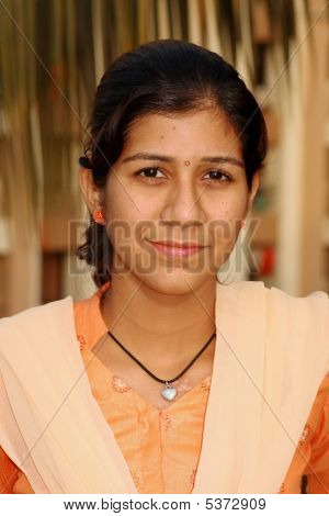 Simple Indian Girl