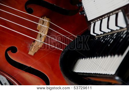Double bass and Melodeon